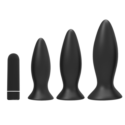 Factory Supply Medical Grade Silicone Flexible Butt Plug Anal Plug Fantasy Rechargeable Anal tool